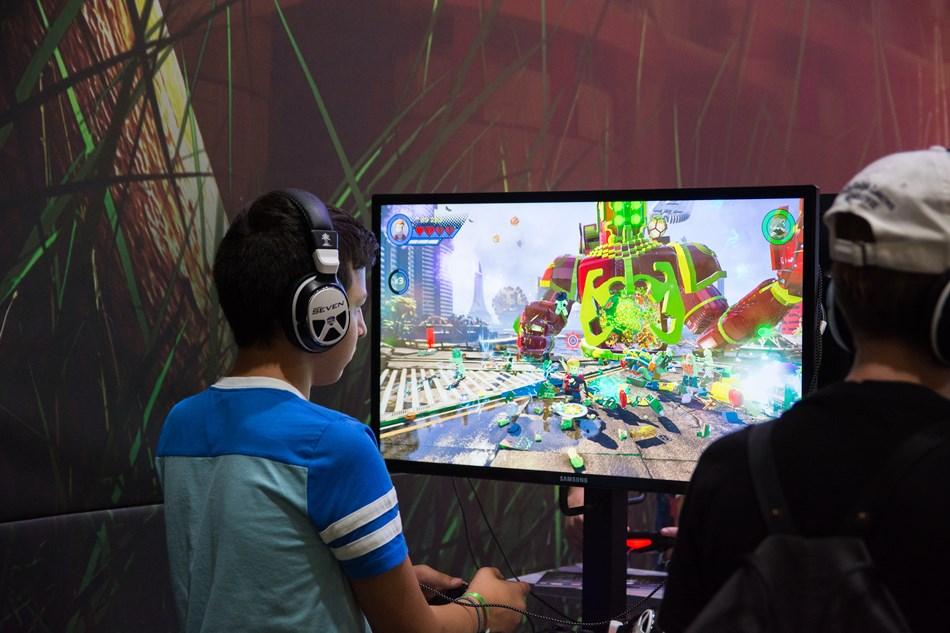 Video games, TV, millennial kids