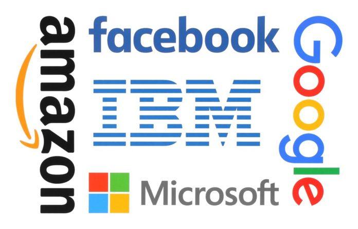 facebook, amazon, google