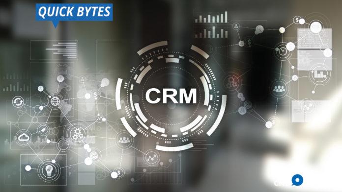 CRM, trends, AI, dashboard, social media, cloud, businesses, customer