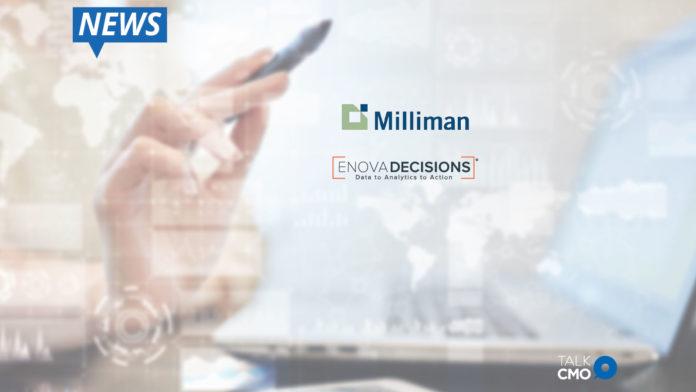 Milliman, Enova, advanced analytic solutions, life insurance industry, customer retention