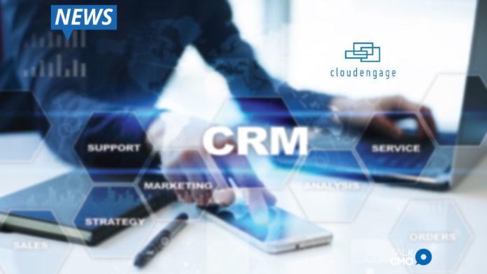 CloudEngage, CRM, Customer Relationship Management Platform, cloud