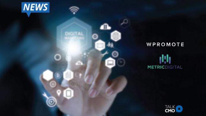 Wpromote, Metric Digital, D2C Performance Marketing Offering, Digital marketing