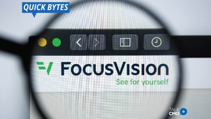 Confirmit Plans to Merge with FocusVision