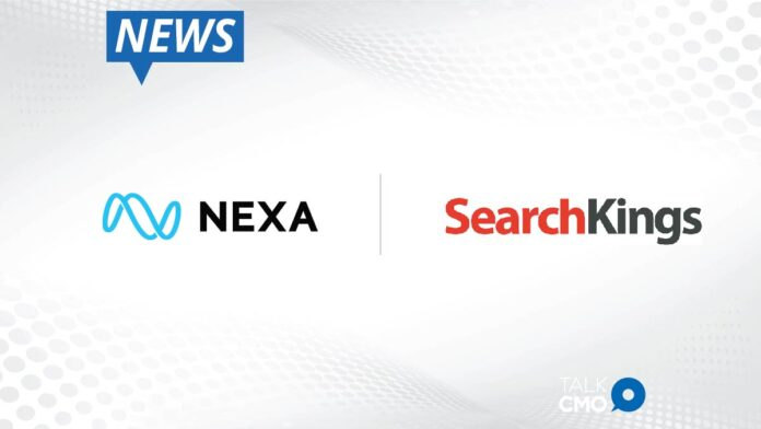 Nexa and SearchKings Teaming Up to Offer Businesses a Comprehensive Demand Generation Solution