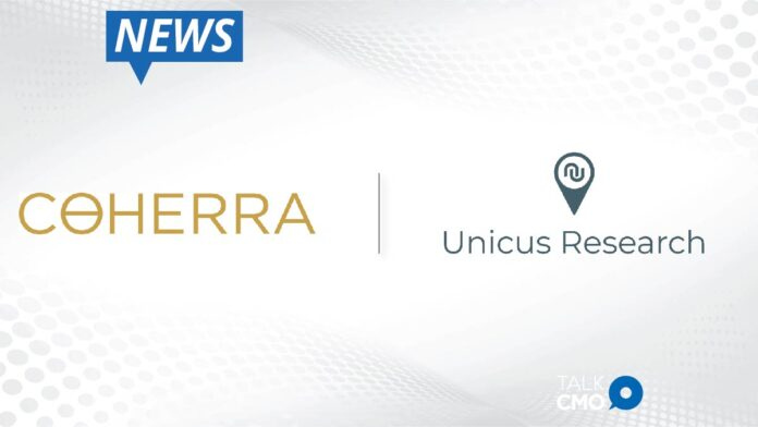 Coherra And Unicus Research Join Forces